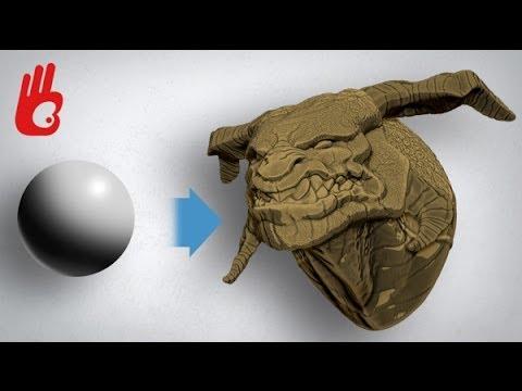 Zbrush el error que cambió el cine y los videojuegos. Dibujar Bien.com