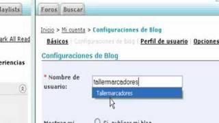 Publicar el blogroll con Bloglines