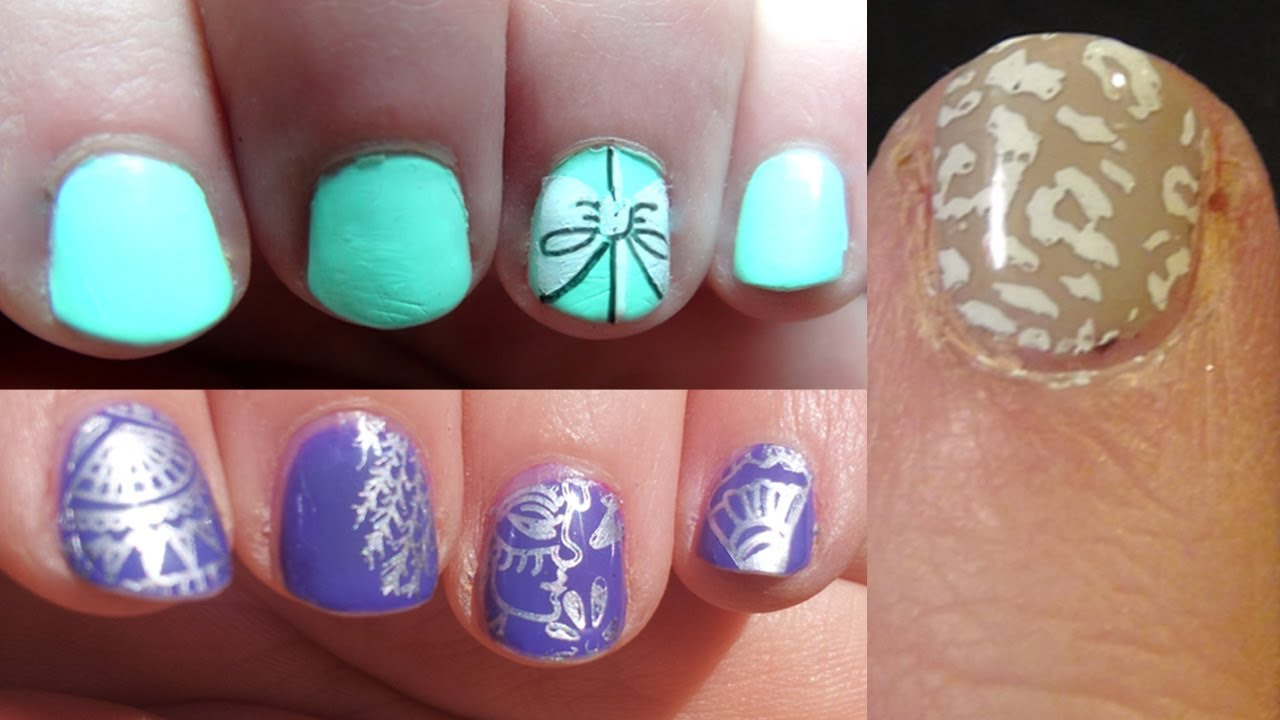 How to stamping on the gel nail polish?