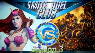 Poison Fatalis Build Merdusa vs Vulcan - Duel Club 1v1 - Smite(Hello everybody and welcome to this amazing game of Duel Club where we take a look at the newly released skin and a few updates to duel. With respawn ..., 2016-08-18T08:03:24.000Z)