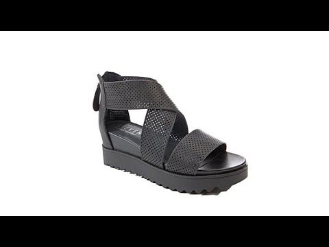 d1aa4271be5 Steven Natural Comfort Kea Leather Platform Sandal - YouTube