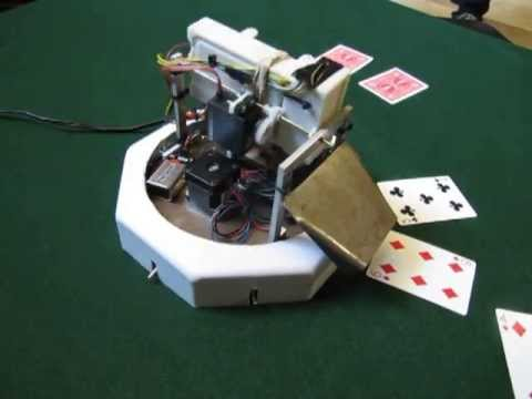poker card dealing machine