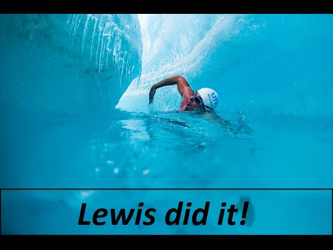 The first video about the unprecedented swim of Lewis Pugh in a glacial lake in Antarctica!