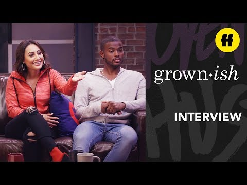 Trevor Jackson, Francia Raisa Interview | The Kickback: Episode 8 | grown-ish x attn