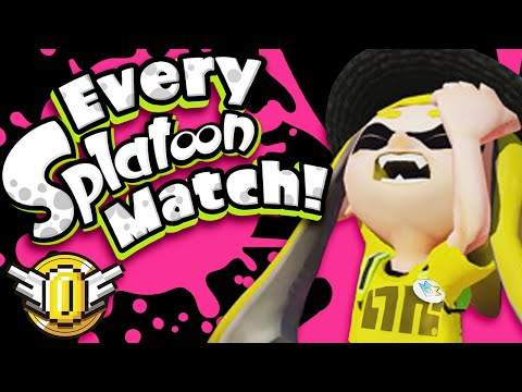 9 Players in EVERY Splatoon Match - Super Coin Crew