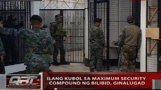 QRT: Ilang kubol sa maximum security compound ng Bilbiid, ginalugad