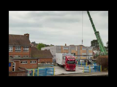 Modulek LTD - Linwood School - Initial Construction