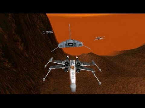 Star Wars Rogue Squadron mission 10 Prisons of Kessel X Wing |