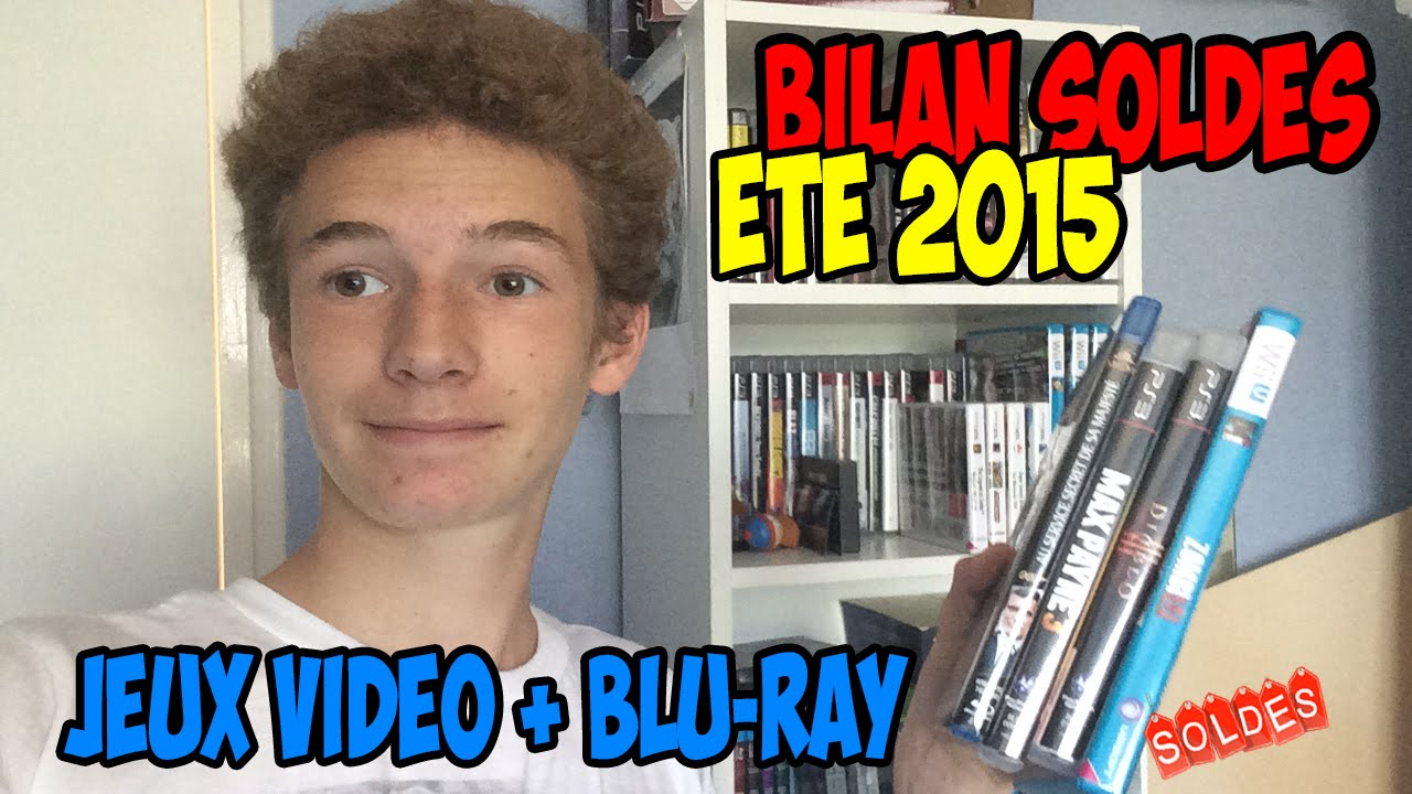 bilan soldes t 2015 jeux vid o et blu ray youtube. Black Bedroom Furniture Sets. Home Design Ideas