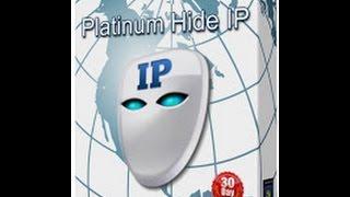 تحميل برنامج Platinum Hide IP لتغيير الايبي العملاق مع التفعيل
