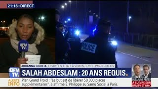 Quel est le dispositif de sécurité pour Salah Abdeslam à la prison de Vendin-le--Vieil