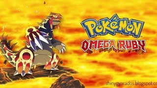 Pokemon Omega Ruby 3DS rom (decrypted for Citra)download