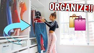 Organizing my dream IKEA closet & Christmas Petite