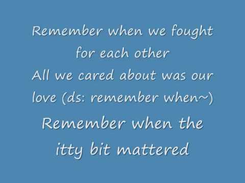 Remember (English w/ lyrics) - Big Bang