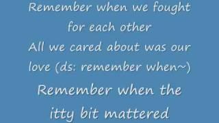 Remember (English w/ lyrics) - Big Bang