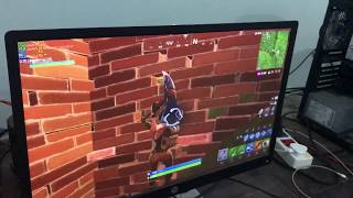 AMD A8 5600k HD 7560D without VGA card at low | Fortnite Test