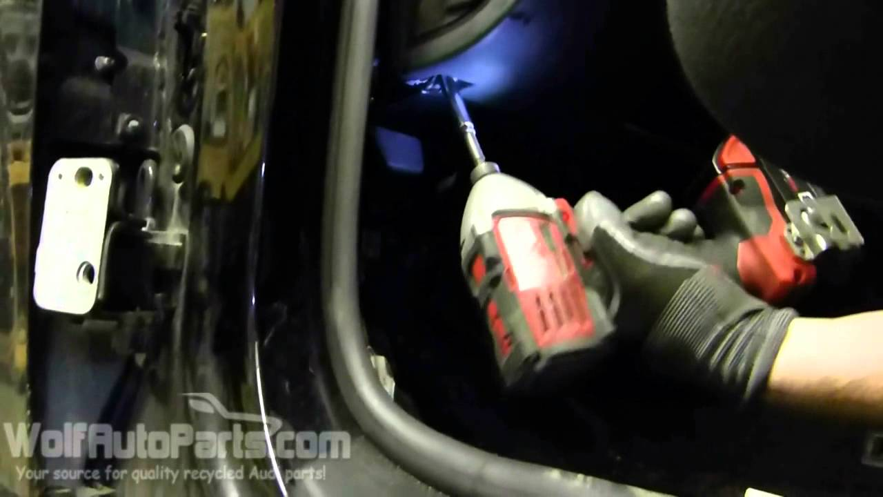 how to remove your knee panel b6 b7 audi a4 2002 2005 wolf auto parts youtube [ 1280 x 720 Pixel ]