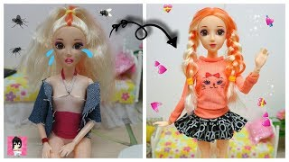 Barbie Custom Doll Makeover Transformation / Ami DIY