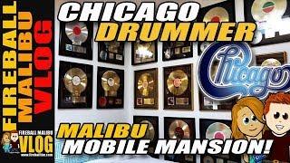 INSIDE $3.5M CHICAGO DRUMMER MOBILE MANSION - FIREBALL MALIBU VLOG 802