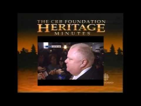 Rob Ford's Heritage Minute - YouTube