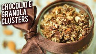 Chocolate Granola Jar - BEST Handmade Diwali Gift - Chocolate Oats Clusters - Bhumika