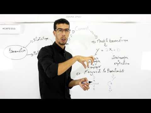 CAFE ECO #EP 01 Econométrie S6 Introduction à l'économétrie Darija