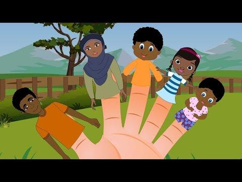 Somali Finger Family - Farti aabe | Somali Baby Song - Heesaha Caruurta