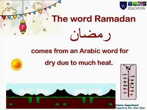 Learn about Fasting in Ramadan