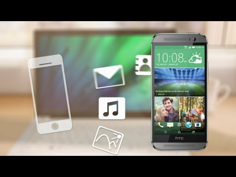 #htchelp HTC One (M8) - Move iPhone stuff to your phone with HTC Sync Manager