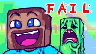 Repeat youtube video MINECRAFT FAIL, A Minecraft Parody