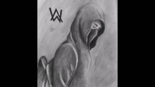 Timelapse Drawing of - Alan Walker - Faded
