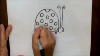 How To Draw A Cartoon Ladybug Step By Step Tutorial