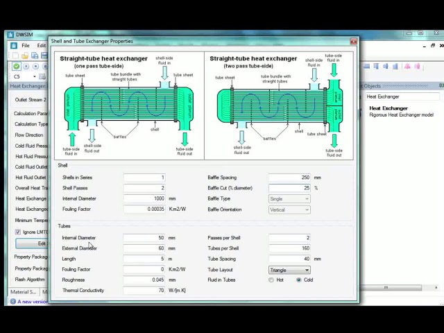 Shell And Tube Heat Exchanger English Youtube