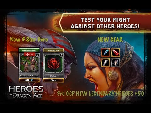 Heroes Of Dragon Age Buying 20x KPs and Banished Plane NEW LEGENDARY #46