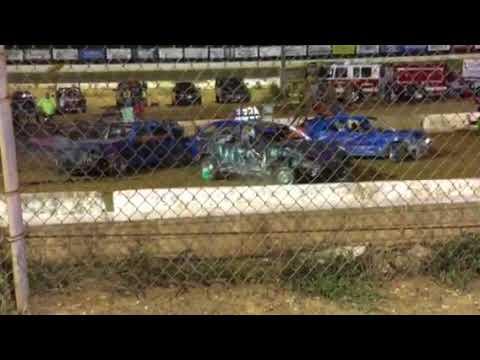 Potomac speedway demo derby sep 2017