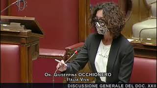 L'intervento di Giusy Occhionero alla Camera dei deputati