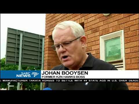 Johan Booysen lays charges against Shaun Abrahams