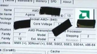 Undisclosed AMD Processor at 3.6GHz (Linus Tech Tips #1)