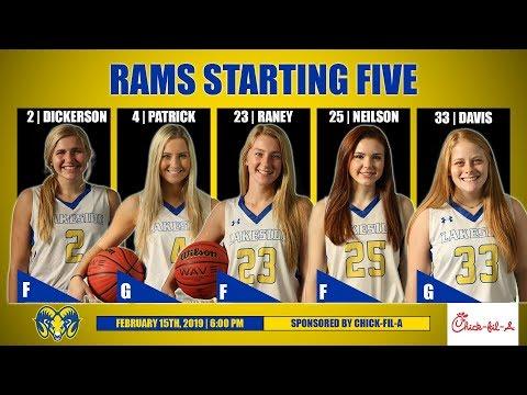 Lakeside Lady Rams Basketball vs JA Fair   February 15th, 2019