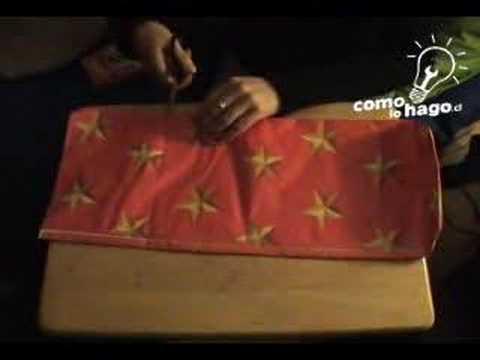 como confeccionar una tarjeta regalo