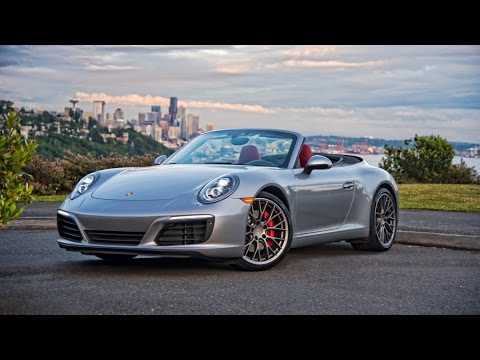 2017 porsche 911 carrera s cabriolet review youtube. Black Bedroom Furniture Sets. Home Design Ideas