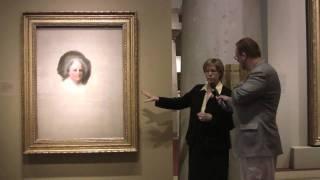 The Athenaeum portraits of George & Martha Washington