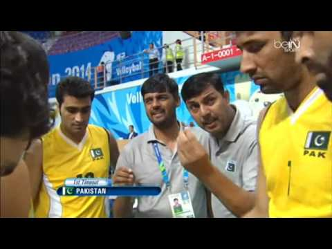 Pakistan Vs Saudia Arabia Volleyball Match