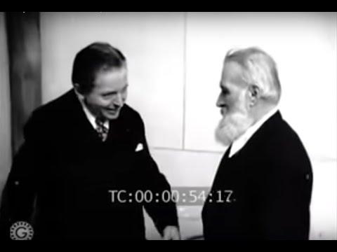 ENESCU & BRÂNCUȘI - Rare film footage, Paris, 1947