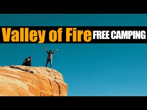 Motorhome RV Living | Boondocking Near & Hiking At Valley of Fire