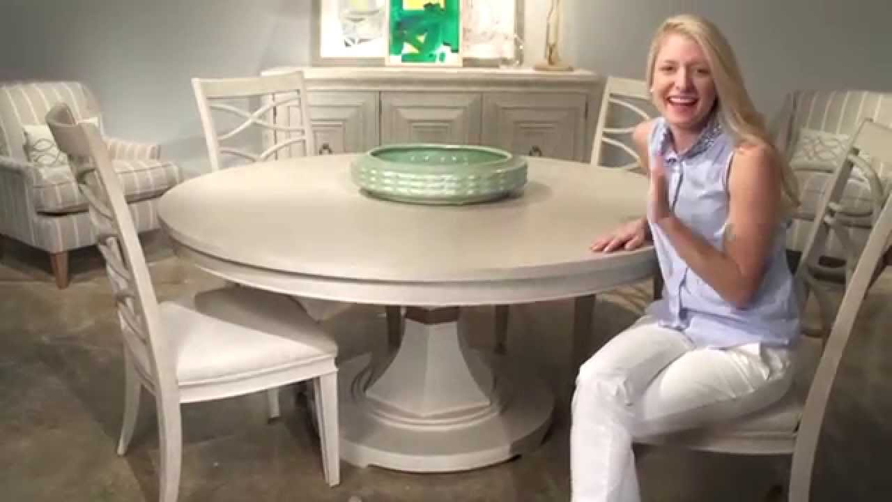 California Round Dining Table In Malibu (476657) By Universal Furniture    YouTube