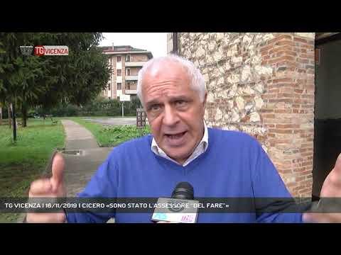 TG VICENZA | 16/11/2019 | CICERO «SONO STATO L'AS...