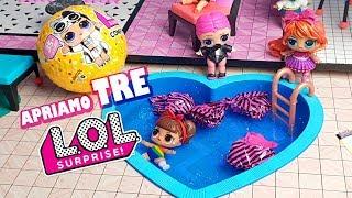 Alla ricerca di Punk Boi: Apriamo 3 LOL Surprise Confetti Pop in PISCINA 🌊 [Unboxing]