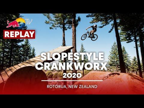 REPLAY Maxxis Slopestyle In Memory Of McGazza | Crankworx Rotorua 2020