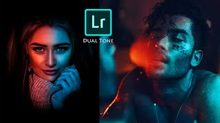 Lightroom dual tone photo editing tutorial